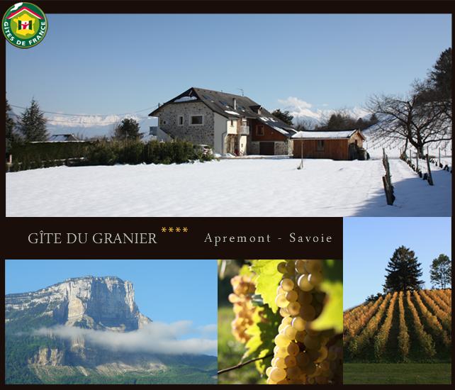 Le Gîte du Granier - Gîte de France - Location hébergement à Apremont en Savoie - 73190